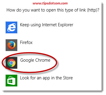 Set Google Chrome As Default Browser 03