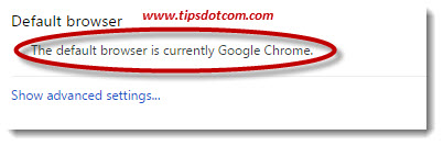 Set Google Chrome As Default Browser 04