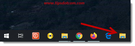 Try the new show desktop button