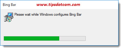 Uninstall Bing Bar 07