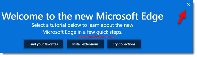 Welcome to The New Microsoft Edge