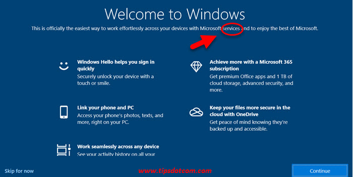 Welcome to Windows on Startup