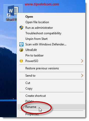 Windows 10 Desktop Shortcut 04