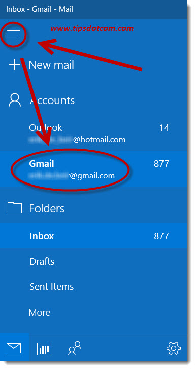 Windows 10 Mail Gmail 12