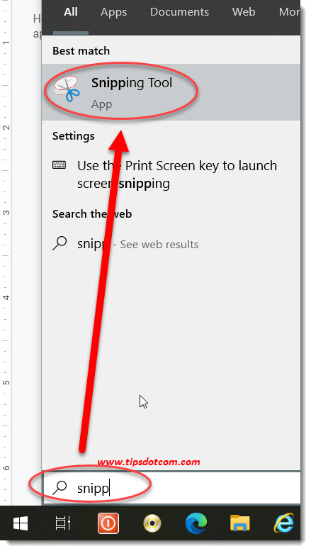 Windows 10 Shortcut For Snipping Tool 07