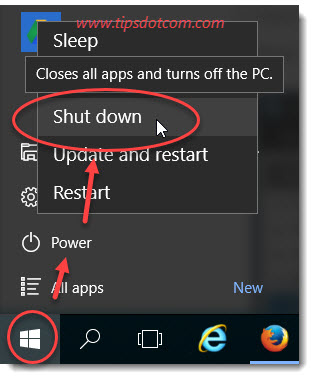 Windows 10 Shutdown Icon 01