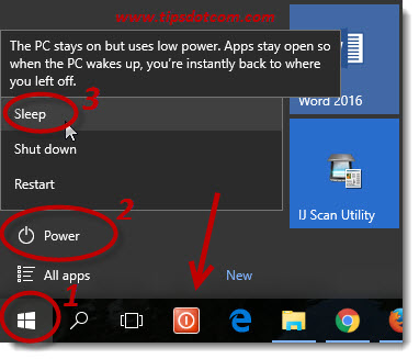 Windows 10 Sleep Mode 01