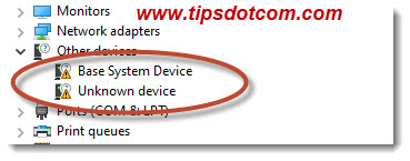 Device driver issues