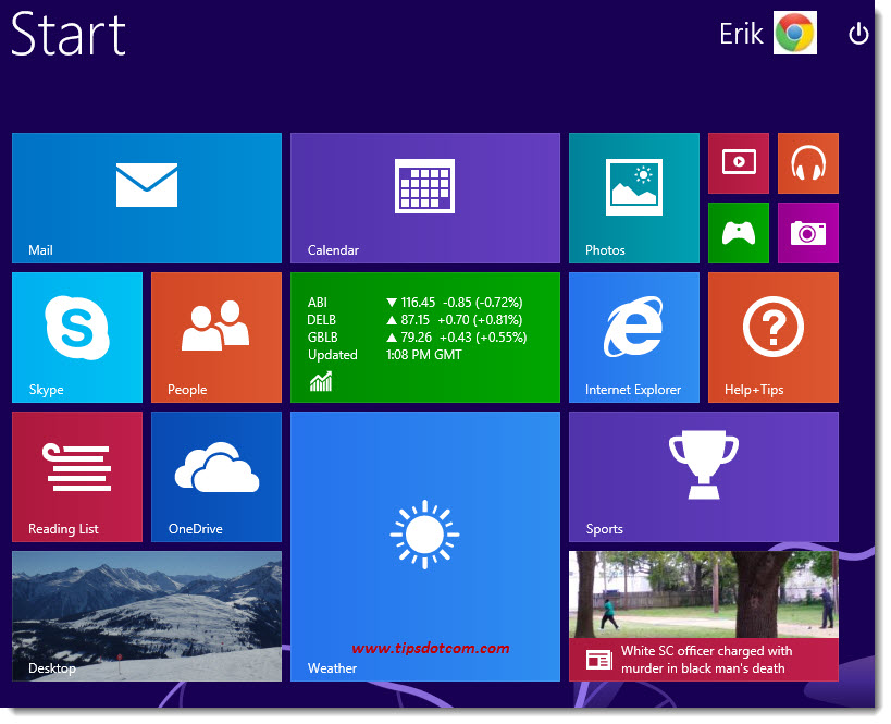 Windows 8 Desktop - 01