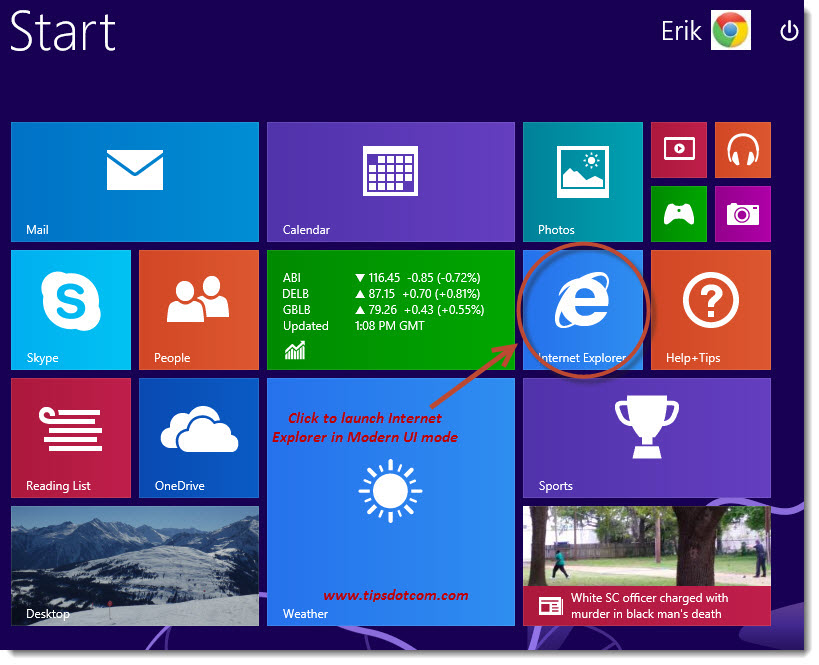 Windows 8 Desktop - 01e