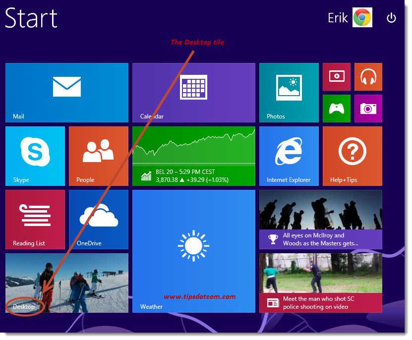 Windows 8 Desktop - 02