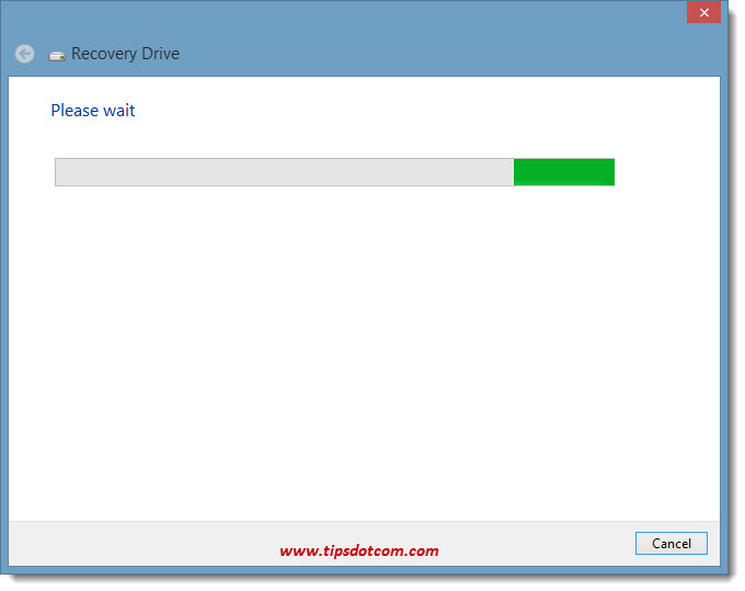 Windows 8 Recovery Drive 04