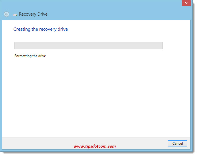 Windows 8 Recovery Drive 08