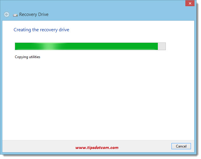 Windows 8 Recovery Drive 09