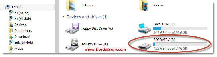 Windows 8 Recovery Drive 11