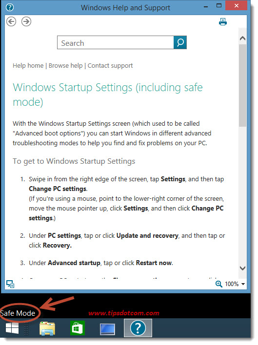 Windows 8 Safe Mode - 12