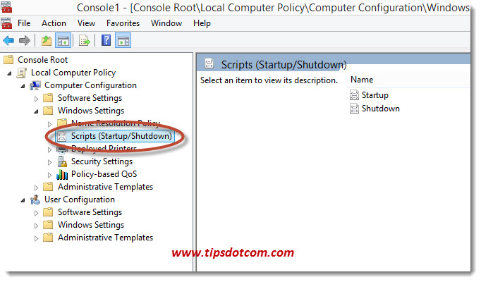 Windows 8 Shutdown Script - Step 12