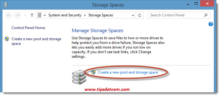 Windows 8 Storage Spaces 02