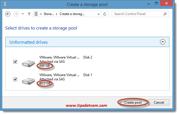 Windows 8 Storage Spaces 04
