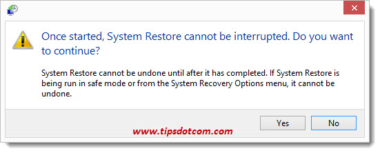 Windows 8 System Restore - Step 14