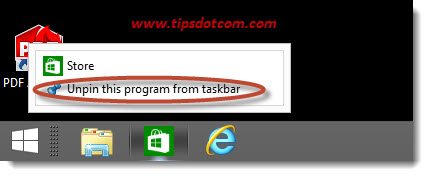 Windows 8 Taskbar Step 17