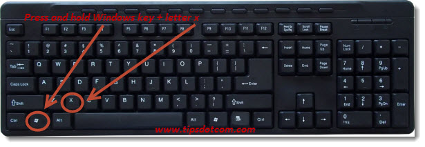 Run as administrator command line tutorial for Window keyboard
