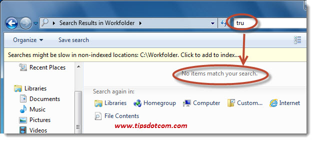 Windows Search in File Contents - Step 07