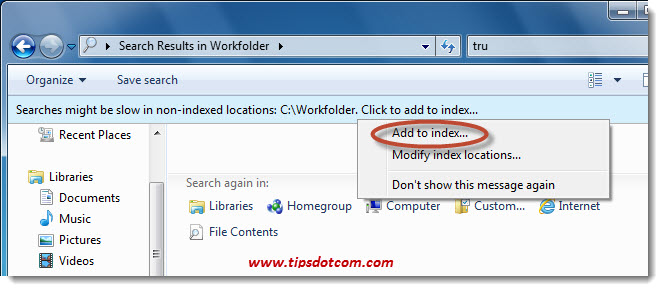 Windows Search in File Contents - Step 08