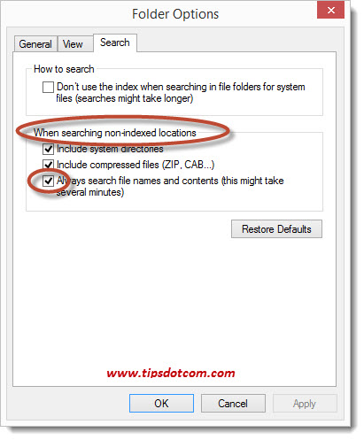 Windows Search in File Contents - Step 14